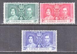 CAYMAN  ISLANDS  97-9  *  CORONATION - Cayman Islands