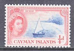 CAYMAN  ISLANDS  135  *  CAT  BOAT - Cayman Islands