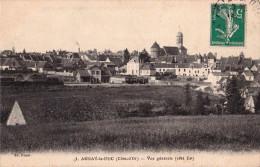 256 -CPA - ARNAY Le DUC Vue Générale - Gare - Edit: Rimet N°3  - Recto-V - Arnay Le Duc
