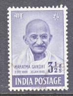 INDIA  204   (o)   GANDHI - 1947-49 Dominion