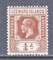 LEEWARD  ISLANDS  61  Die  II   *  Wmk. 4 - Leeward  Islands