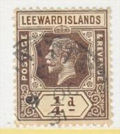 LEEWARD  ISLANDS  61  Die  II   (o)    Wmk. 4 - Leeward  Islands