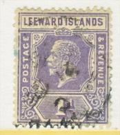 LEEWARD  ISLANDS  64   (o)    Wmk. 4 - Leeward  Islands