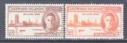 LEEWARD  ISLANDS  116-7  **    PEACE - Leeward  Islands