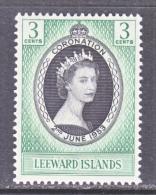 LEEWARD  ISLANDS  132    *   CORONATION - Leeward  Islands
