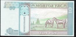 MONGOLIA P62c 10  TUGRIK   2013     UNC. - Mongolia