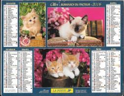 Calendrier. Almanach du facteur 2006. Essonne (91) - Chatons et chiots.