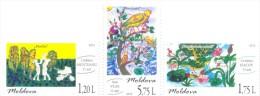 2015. Moldova, Children´s Drawings, International Children´s Day, Set, Mint/** - Moldavia