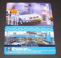 GREECE PHONECARD SEAT TOLEDO 4 39000pcs-X0709- 3/99-  USED-GOOD CARD - Greece