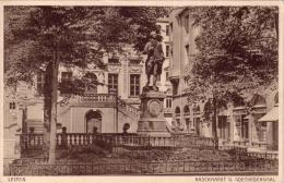 ALTE AK  LEIPZIG / Sa. - Naschmarkt & Goethedenkmal - Ca. 1915 - Leipzig