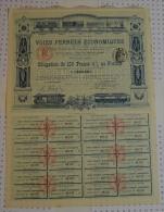 Voies Ferrées économiques - Chemin De Fer & Tramway