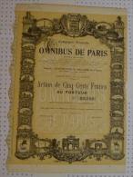 Cie Générale Des Omnibus De Paris, Illustrée Par Peronard - Automobile