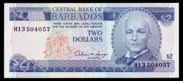 Barbados 2 Dollars 1993 P.42 XF+ - Barbados