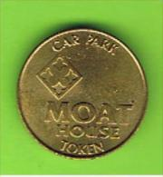 022 #  Spielmarke - Jeton - CAR PARK MOAT HOUSE - Profesionales/De Sociedad