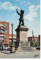 Dunkerque Statue De Jean Bart ... (La Voix Du Nord , Banque Société Générale ... - Dunkerque