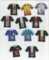 MAGNET , SPORT , FOOTBALL , Entraineurs De Club Français , 2009 , LOT DE 11  MAGNETS - Sports
