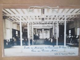 HAITI CARTE PHOTO PORT AU PRINCE SALLE DE MUSIQUE DU PENSIONNAT STE ROSE DE LIMA   RARE - Postcards