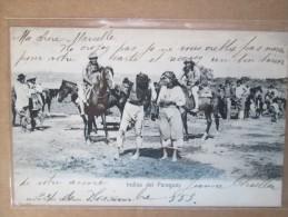 INDIOS DEL PARAGUAY  RARE  DOS 1900 - Paraguay