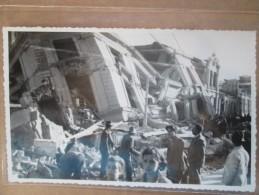 CARTE PHOTO CHILIE TREMBLEMENT DE TERRE CONCEPTION  JANVIER 1939  RARE - Chili