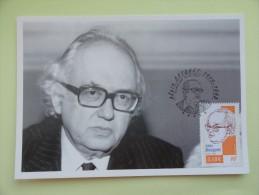 CARTE MAXIMUM CARD ECRIVAIN ALAIN BOSQUET PARIS  FRANCE - 2000-09