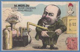 POLITIQUE --  MILLE --- M. MERLOU