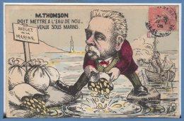 POLITIQUE --  MILLE --- M. THOMSON