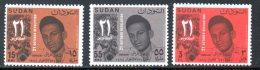 SOUDAN. N°186-8 De 1966. Révolution Du 21 Octobre. - Soudan (1954-...)