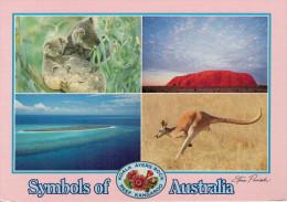 SYMBOLS  OF  AUSTRALIA   BY  STEVE PARISH       12X17      (VIAGGIATA) - Australia