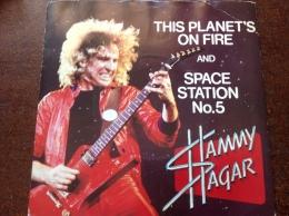 "SAMMY HAGAR ""this Planet On Fire"" 45t - Hard Rock & Metal"