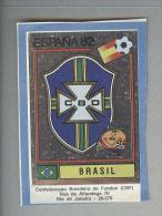 BRASIL....SCUDETTO..PANINI  ESPANA 82....FOOTBALL..TRADING CARDS..FIGURINE. ..CALCIO - Panini