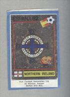 NORTHERN IRELAND....SCUDETTO..PANINI  ESPANA 82....FOOTBALL..TRADING CARDS..FIGURINE. ..CALCIO - Panini