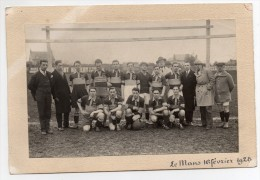 Photo Equipe De Foot Le Mans 1928 Football Club - Plaatsen