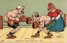 Politique Illustrateur NADAL  Raymond dit Point- Carr� contre Pams