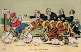 Politique Illustrateur NADAL Les cinq Fils Aymon