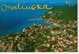 MALINSKA      11,5X16,5      (VIAGGIATA) - Croatia