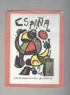 MANIFESTO FIGURINA N.4....PANINI  ESPANA 82....FOOTBALL..TRADING CARDS..FIGURINE. ..CALCIO - Panini