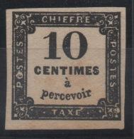 FRANCE - YT Taxe N° 2A - Neuf * - MH - Cote: 750,00 € - Taxes