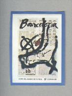 MANIFESTO FIGURINA N.6....PANINI  ESPANA 82....FOOTBALL..TRADING CARDS..FIGURINE. ..CALCIO - Panini