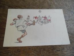 CPA Caricature Football, B.K.W.I 279 - 4, Illustrateur à Identifier - Autres Illustrateurs