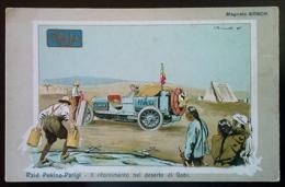 ITALA, Raid Pekino-Parigi, Il Rifornimento Nel Deserto Del Gobi - Illustratore Biscaretti - Pubblicitari