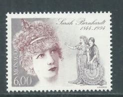 Monaco N° 1963 XX 150ème Anniversaire De La Naissance De Sarah Bernhardt,  Sans Charnière TB - Unclassified