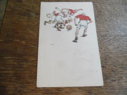 CPA Caricature Football, B.K.W.I 279 - 5, Illustrateur à Identifier Voir Signature - Autres Illustrateurs
