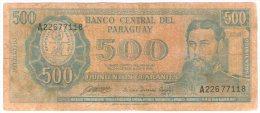 Paraguay 500 Guaranies 1952 - Paraguay