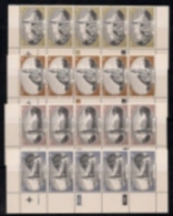 SOUTH WEST AFRICA, 1978, MNH Controls Strips, Churches, M 448-451 - South West Africa (1923-1990)