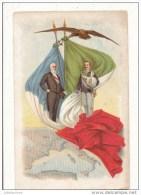 ILLUSTRATION 1903 PRESIDENT DE LA REPUBLIQUE FRANCAISE ET ROI ITALIEN