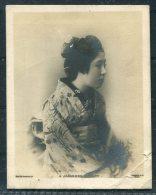 1904 Japan Geisha Beauty / GB 'Queens' Miniature Radpid Photo Company RP Postcard - Asia