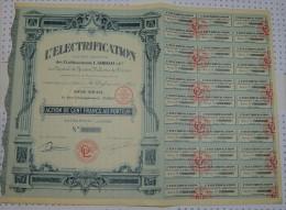 L'Electrification - Electricité & Gaz
