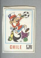 CHILE..SCUDETTO....PANINI MUNCHEN 1974...FOOTBALL..TRADING CARDS..FIGURINE...CALCIO - Panini