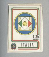 ITALIA...SCUDETTO....PANINI MUNCHEN 1974...FOOTBALL..TRADING CARDS..FIGURINE...CALCIO - Edizione Italiana