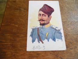 CPA Illustrateur Albert Beerts , Militaire Avec Décoration - Beerts, Albert